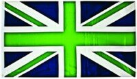 Green Union Jack